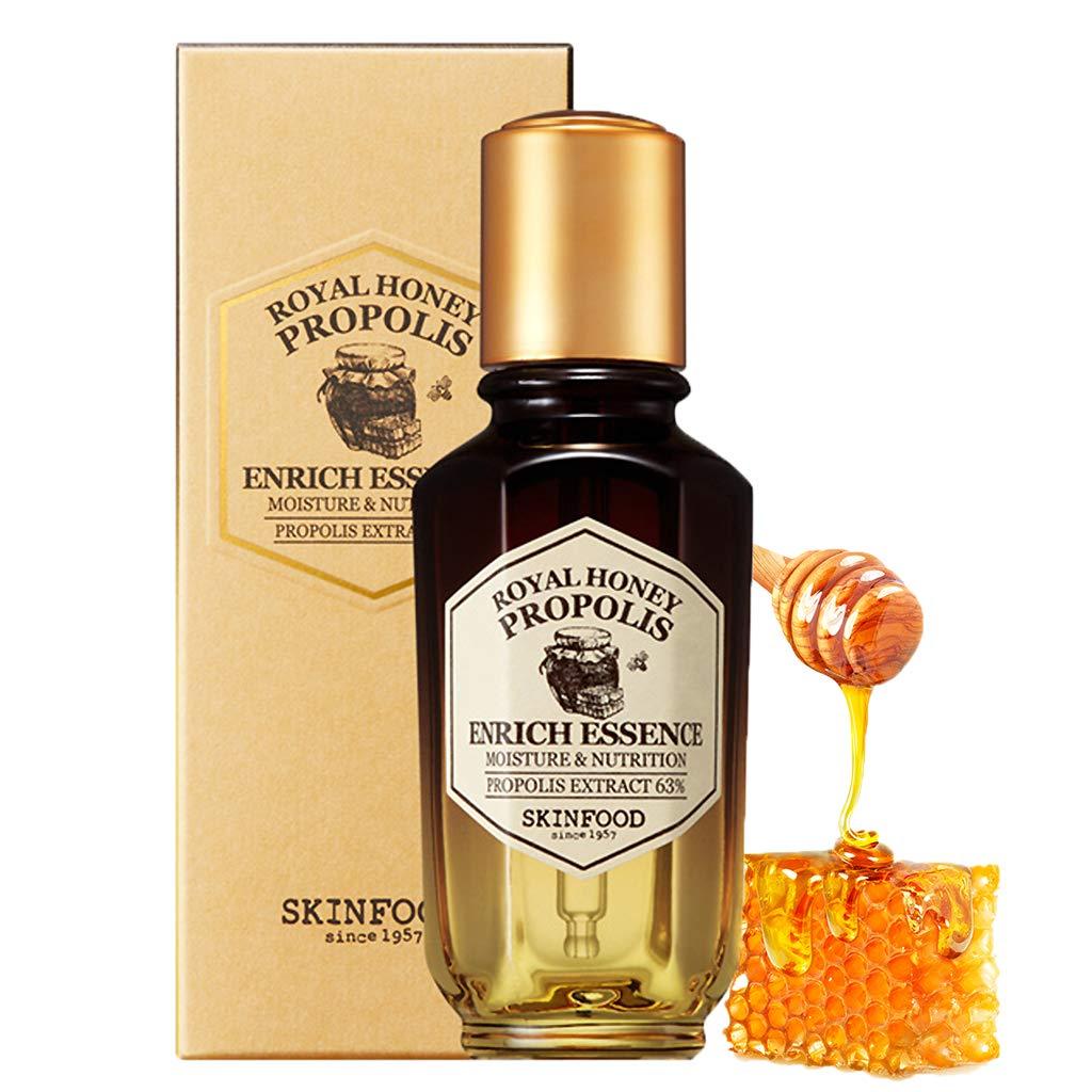 A bottle of SKINFOOD Royal Honey Propolis Enrich Essence (From: amazon.com).