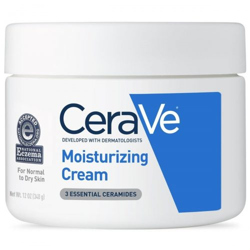 A close-up shot of the CeraVe Moisturizing Cream jar (From: Cerave.com).