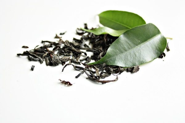 Close look at green tea leaves (From:Pixabay)
