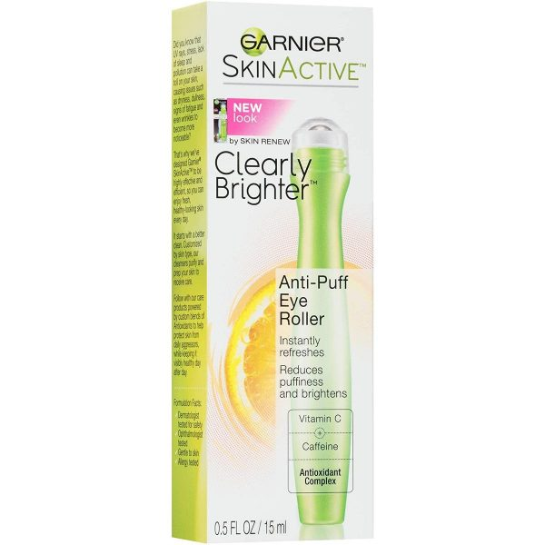 Garnier SkinActive Clearly Brighter Anti-Puff Eye Roller (From:garnierusa.com).
