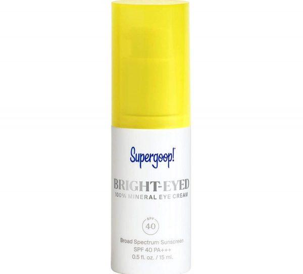 Supergoop! Bright-eyed 100% Mineral Eye Cream (From: Amazon)