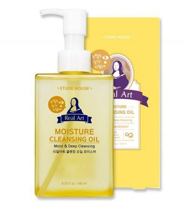 A closer look at the Etude House Real Art Moisture Cleansing Oil. (From: amazon.com)
