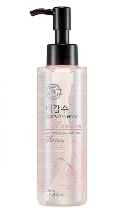 A closer look at THE FACE SHOP Rice Water Bright Light Cleansing Oil. (From: amazon.com)