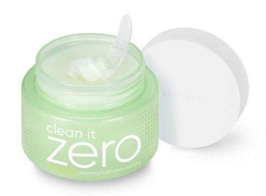 A closer look at the Banila Co Clean It Zero Pore Clarifying Cleansing Balm. (From: banilaco.ph)