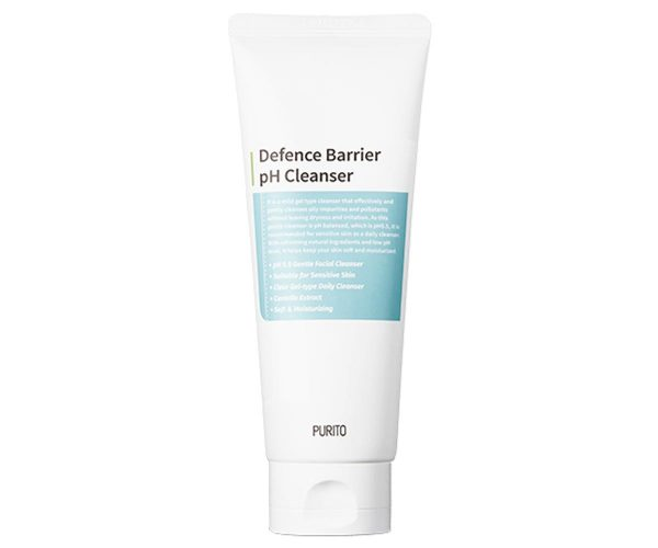 A closer look at the PURITO Defence Barrier pH Cleanser. (From: puritoen.com)