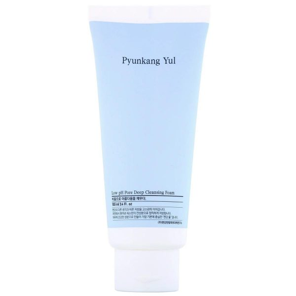 A closer look at the Pyunkang Yul Low pH Pore Deep Cleansing Foam. (From: iHerb.com)